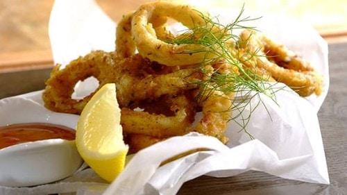 Garlic and Herb Crumbed Calamari