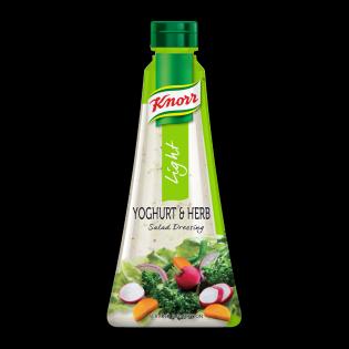 Knorr Light Yoghurt & Herb Salad Dressing 340ml