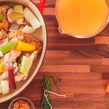 roasting tin chicken vegetables