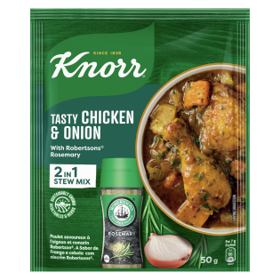 Knorr Tasty Chicken & Onion Soup with Robertsons Rosemary 50gr