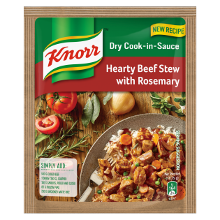 Knorr Hearty Beef Stew With Rosemary Dry Cook-in-Sauce 47gr
