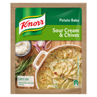Knorr Sour Cream And Chives Potato Bake 43 GR